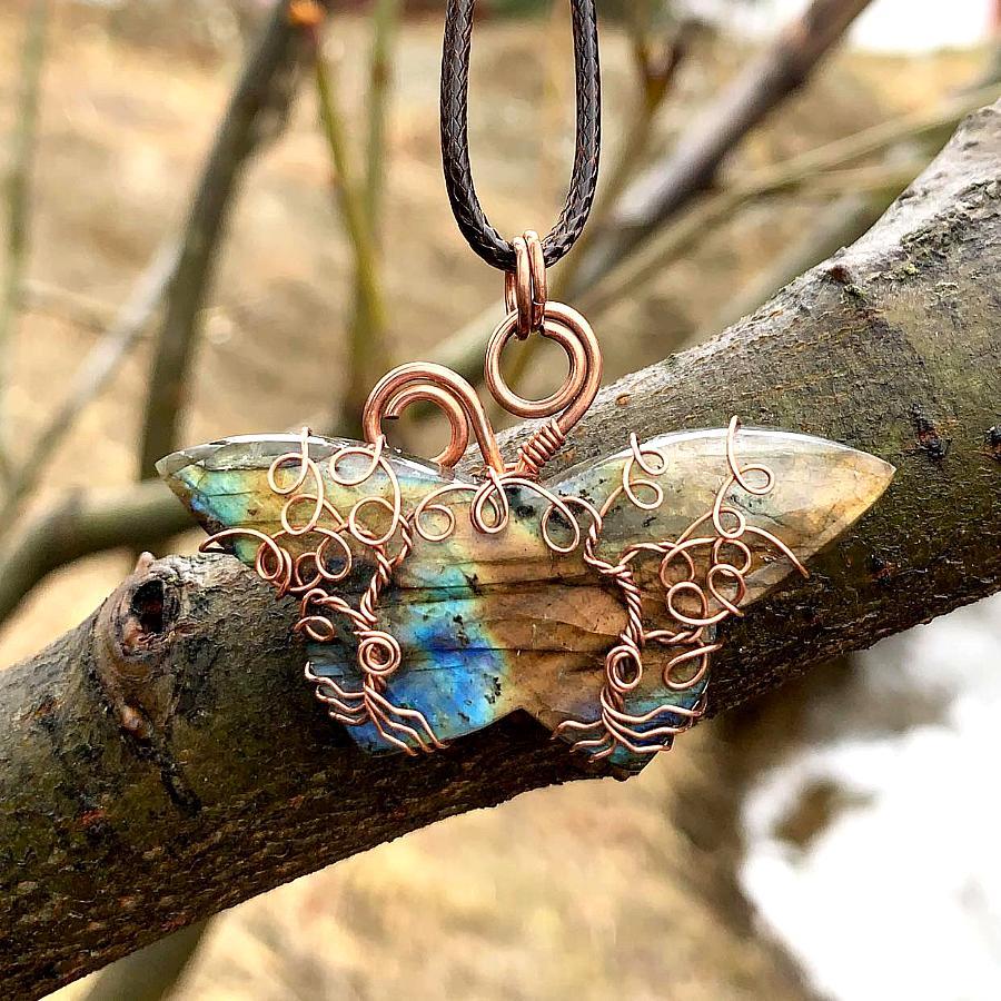 Butterfly Tree Pendant