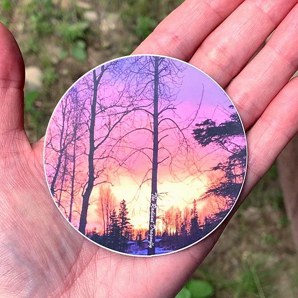 Alaska Sunset Sticker
